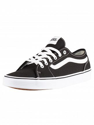Vans Black/White Filmore Decon Canvas Trainers