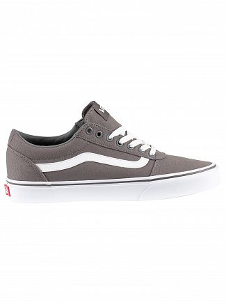 Vans Pewter/White Ward Canvas Trainers