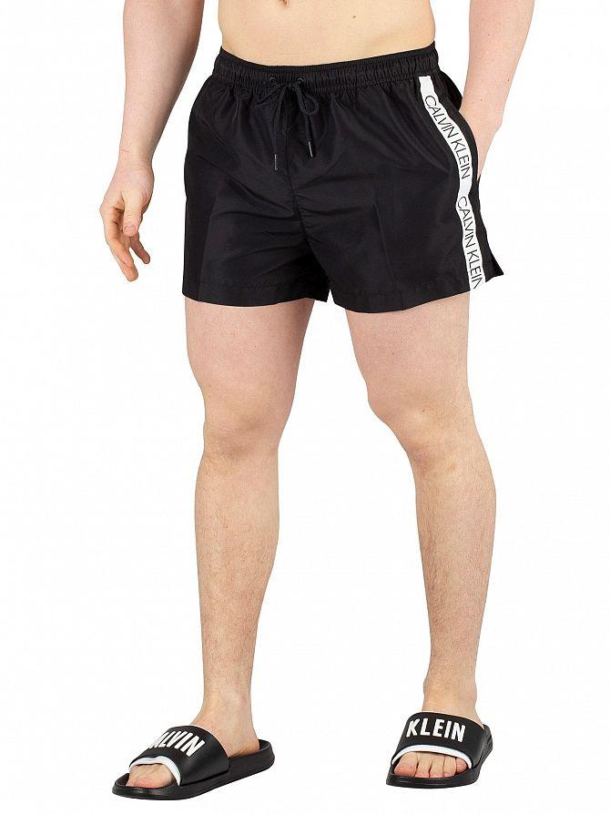 Calvin Klein Black Short Drawstring Swimshorts
