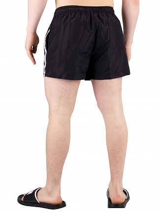 Calvin Klein Black Short Drawstring Swimshorts
