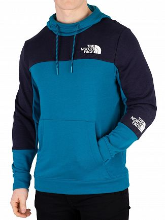The North Face Crystal Teal Pullover Hoodie