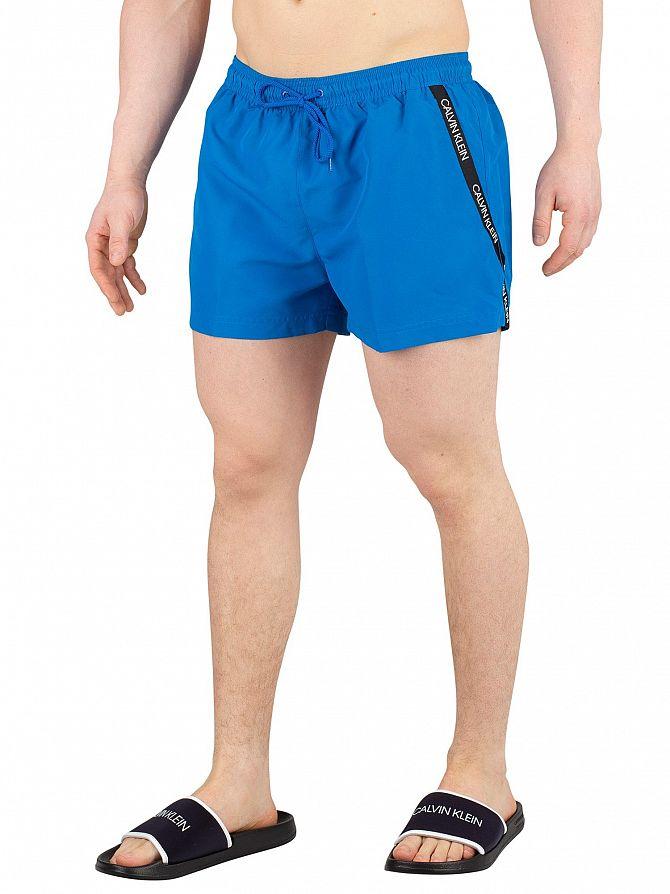 Calvin Klein Imperial Blue Short Drawstring Swim Shorts