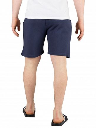 Calvin Klein Blue Shadow Terry Sweat Shorts