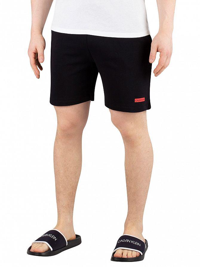 Calvin Klein Black Terry Sweat Shorts