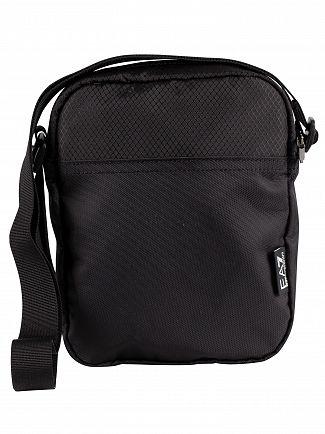 EA7 Black Train Prime Pouch Bag