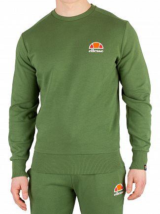 Ellesse Dark Green Anguilla Sweatshirt