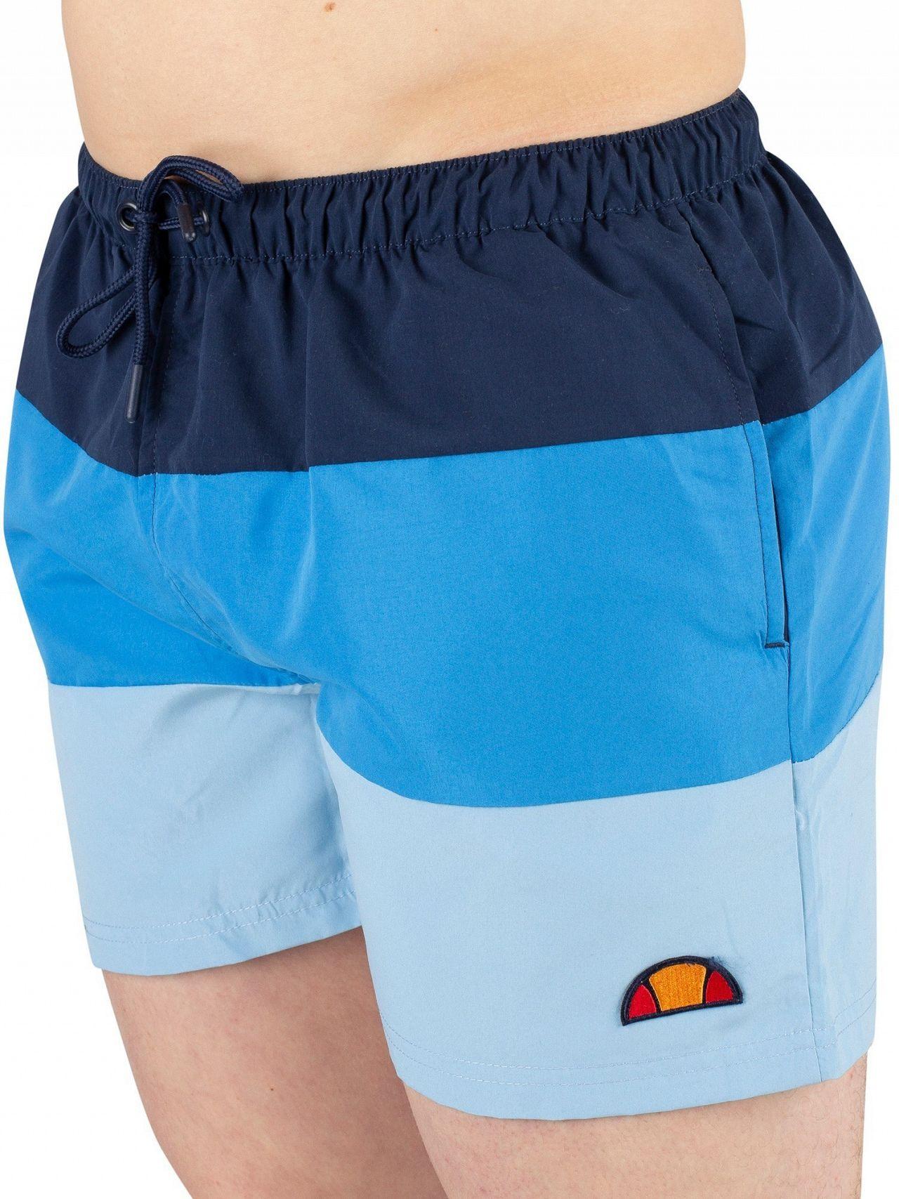 ff8e48b7d5 Ellesse Light Blue Cielo Swim Shorts | Standout