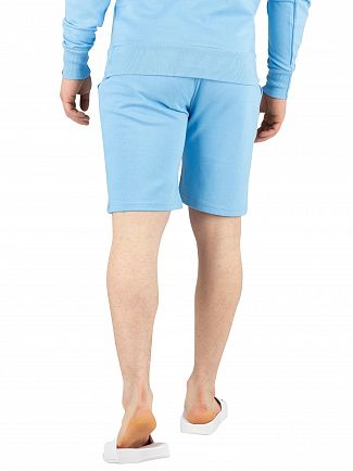 Ellesse Light Blue Crawford Sweat Shorts