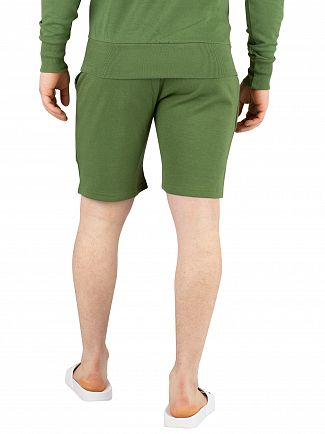Ellesse Dark Green Crawford Sweat Shorts