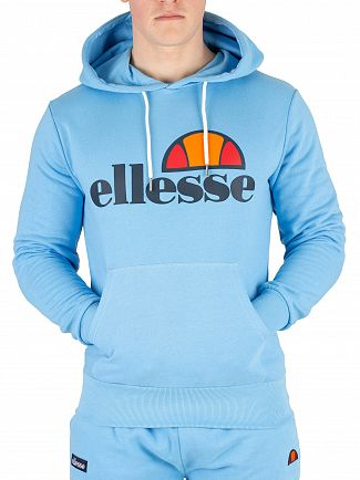 Ellesse Light Blue Gottero Pullover Hoodie