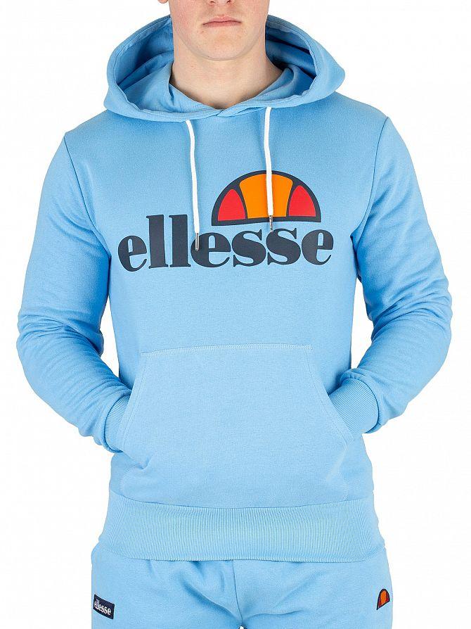 Ellesse Light Blue Gottero Pullover Hoodie
