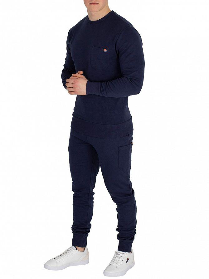 2eca19b3e2 Details about Ellesse Men's Orpot Pocket Joggers, Blue