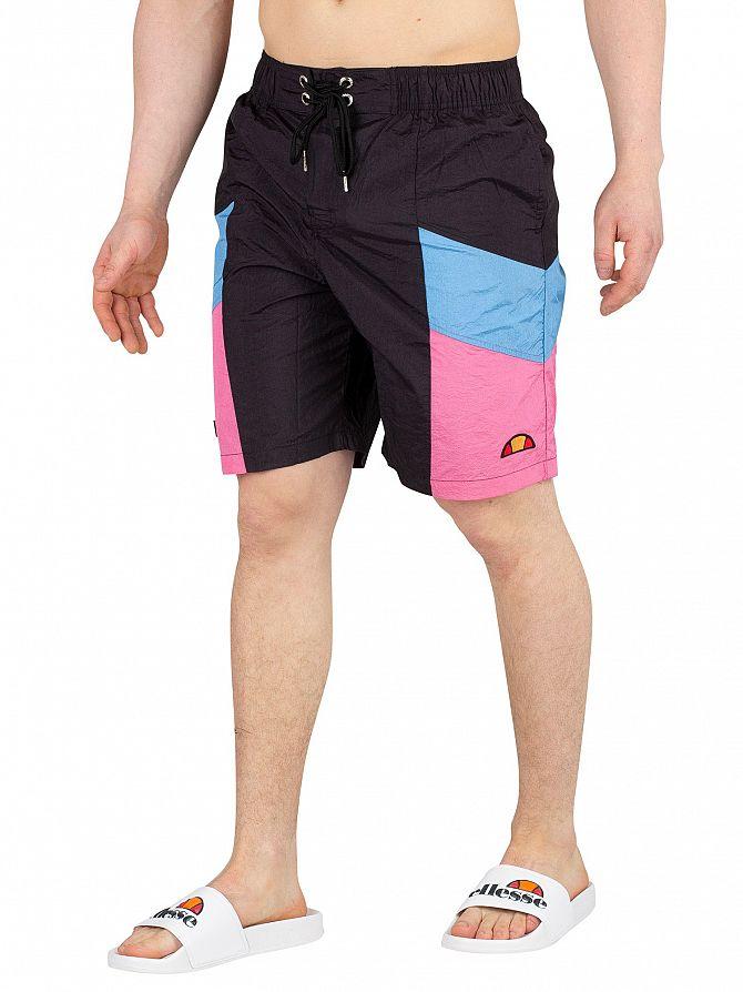 Ellesse Black Padre Board Swim Shorts