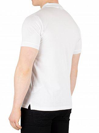 Ellesse White Pesaro Poloshirt