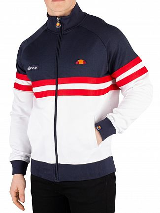 Ellesse Navy/White Rimini Track Jacket