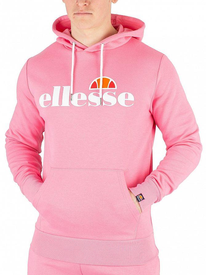 Ellesse Pink Runaway Pullover Hoodie
