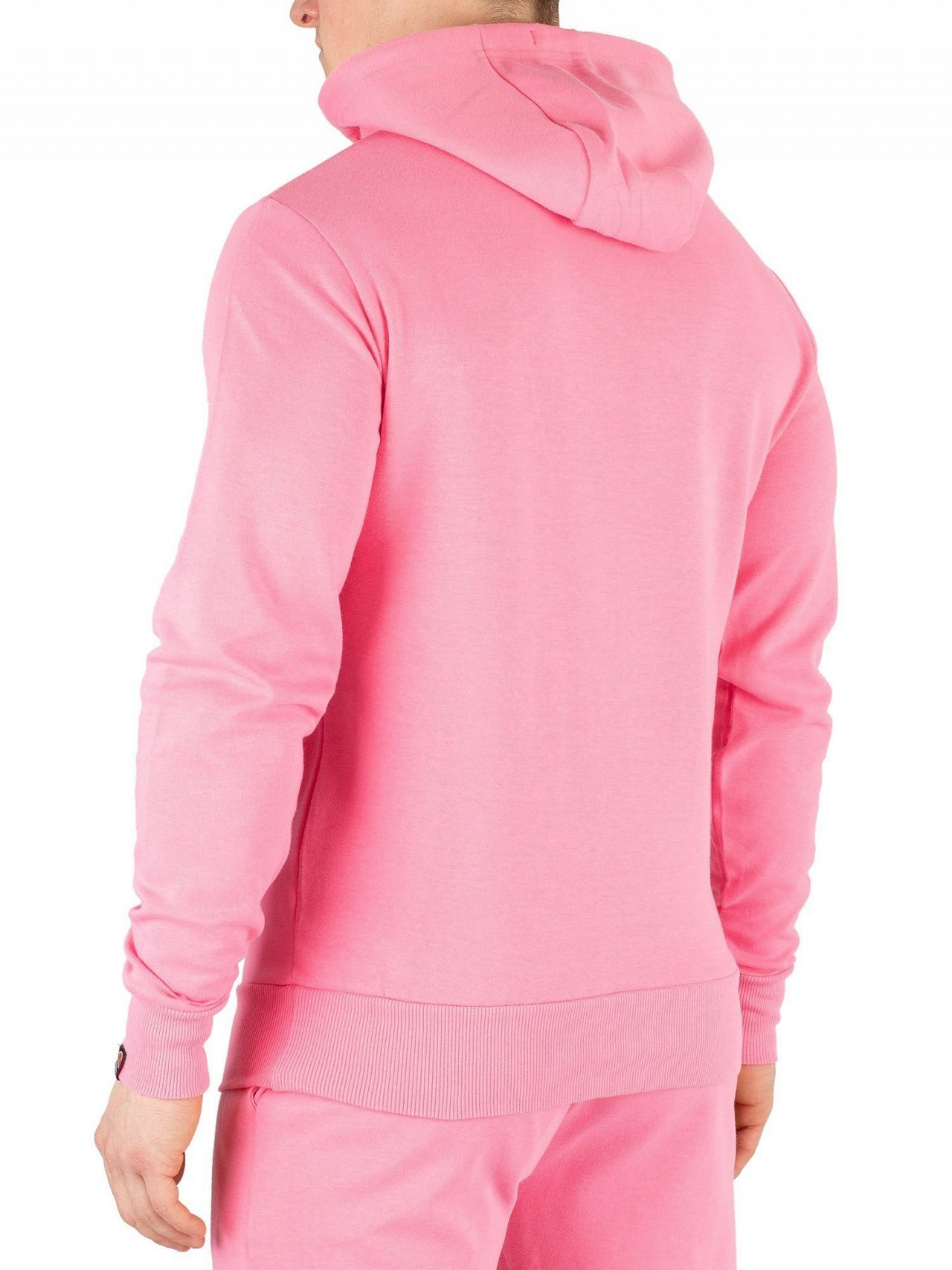 98cbba02 Ellesse Pink Runaway Pullover Hoodie | Standout
