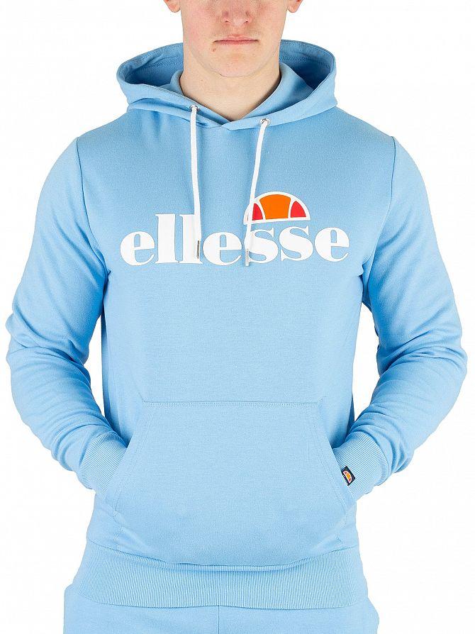 Ellesse Light Blue Runaway Pullover Hoodie