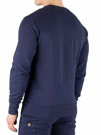 Ellesse Navy Thenor Pocket Sweatshirt