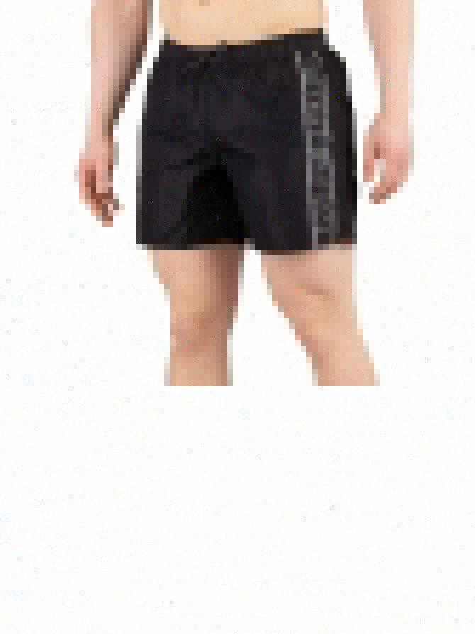a479a9c668cb1 Emporio Armani Black Boxer Swim Shorts | Standout