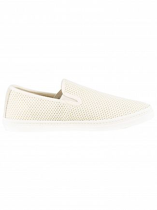 Gant Bone Beige Frank Slip On Shoes