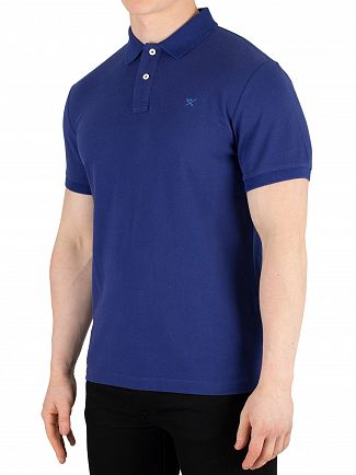 Hackett London Dark Blue Slim Fit Polo Shirt