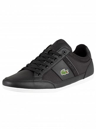 Lacoste Black/Dark Grey Chaymon 219 1 CMA Trainers