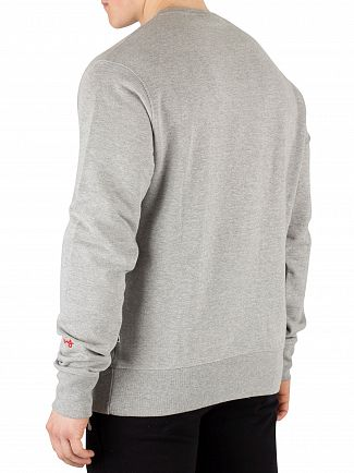 Money Grey Combo Mix Sweatshirt