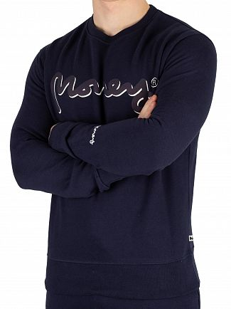 Money Navy Shadow Sig Ape Sweatshirt