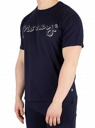 Money Navy Shadow Sig Ape T-Shirt