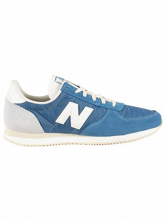 New Balance Blue 220 Suede Trainers