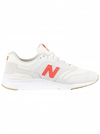New Balance Grey 997 Suede Trainers
