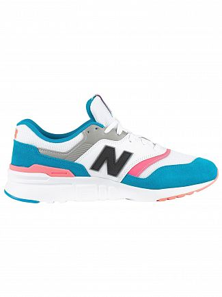 New Balance Deep Ozone Blue/Guava 997 Trainers
