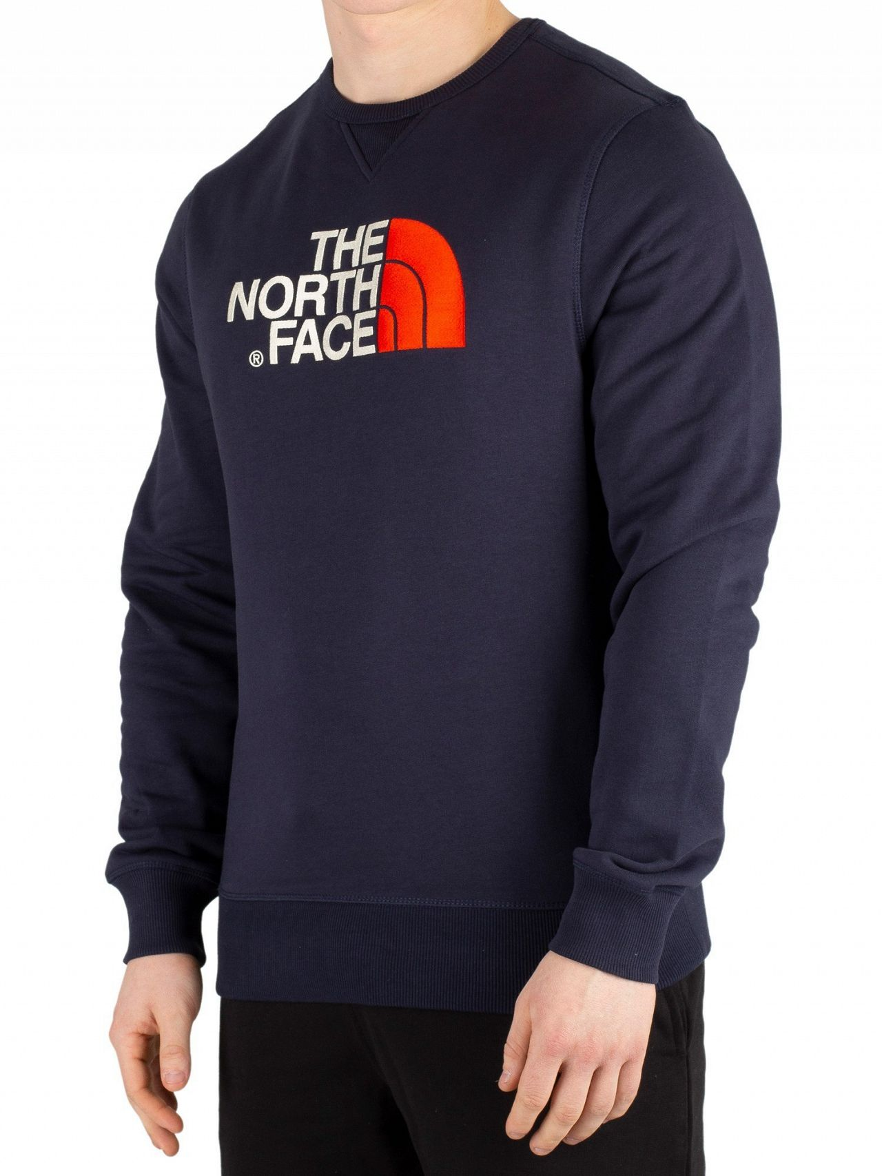 81e645104 The North Face Navy/Fiery Red Drew Peak Sweatshirt