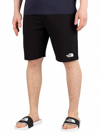 The North Face Black Stand Sweat Shorts
