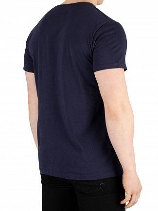 Timberland Navy Brand T-Shirt