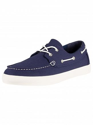 Timberland Black Iris Navy Union Wharf Boat Shoes