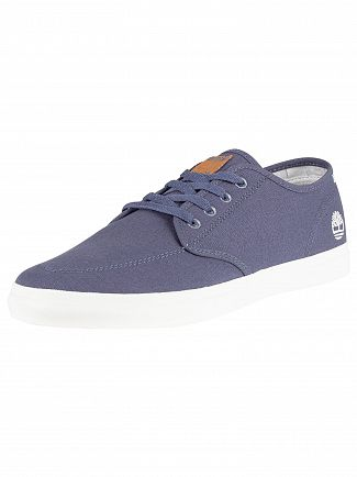 Timberland Dark Blue Union Wharf Oxford Trainers