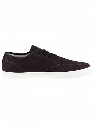 Timberland Black Union Wharf Oxford Trainers