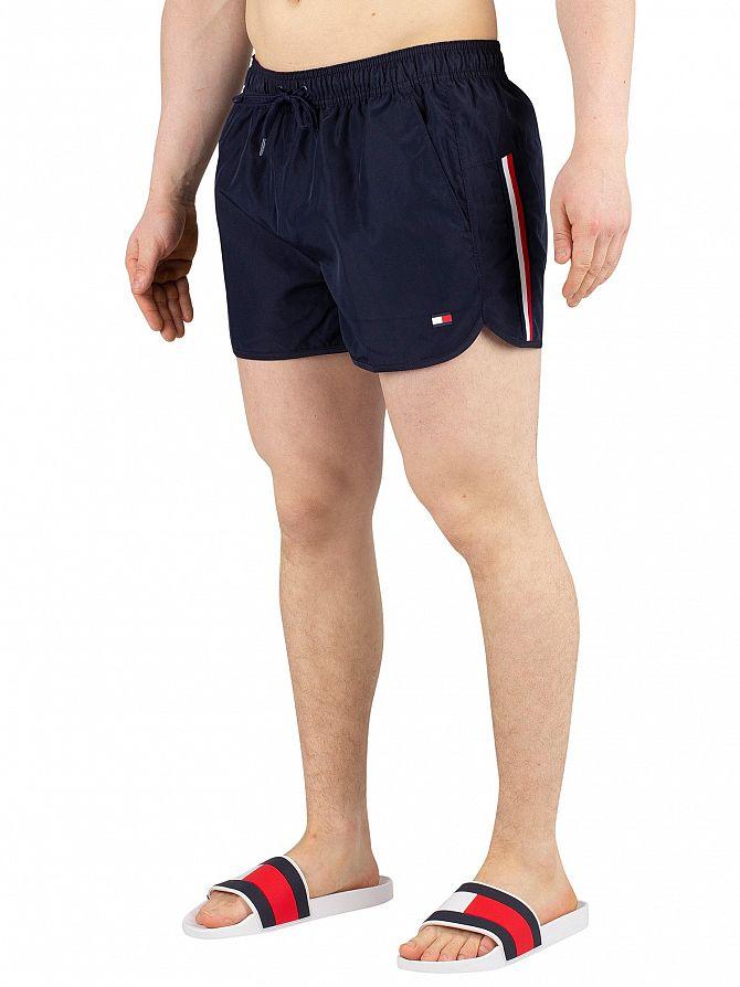Tommy Hilfiger Navy Blazer Runner Swim Shorts