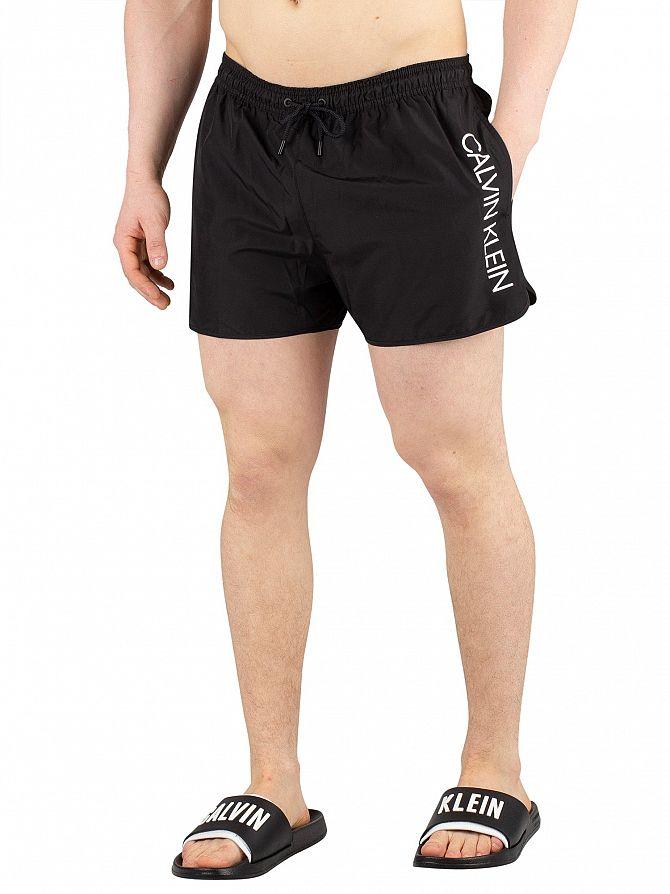 Calvin Klein Black Short Runner Swim Shorts