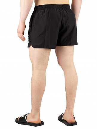 Calvin Klein Black Short Runner Swim Shorts