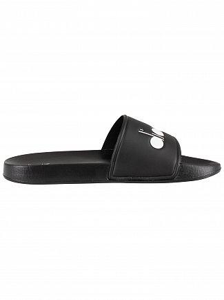 Diadora Black Serifos '90 Sliders