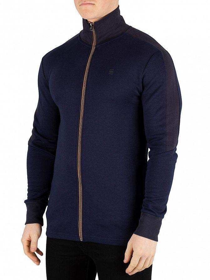 G-Star Sartho Blue Graphic Meson Jirgi Zip Jacket