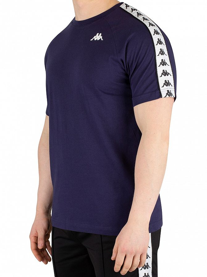 1ed7f91a22 Details about Kappa Men's 222 Banda Coen T-Shirt, Blue