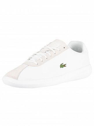 Lacoste White Avance 119 2 SMA Trainers
