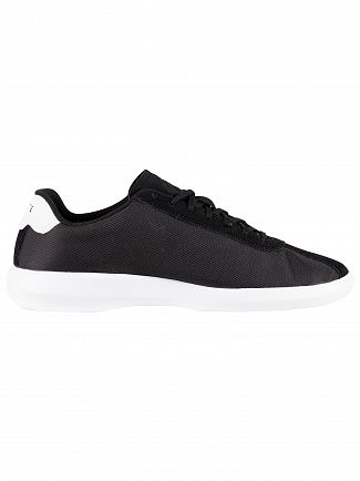Lacoste Black/White Avance 119 2 SMA Trainers