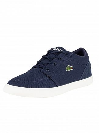 Lacoste Navy/Off White Bayliss 219 1 CMA Trainers