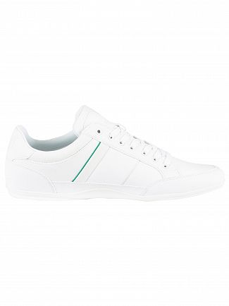 Lacoste White Chaymon 219 1 CMA Leather Trainers