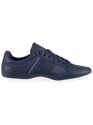 Lacoste Navy Chaymon 219 1 CMA Leather Trainers